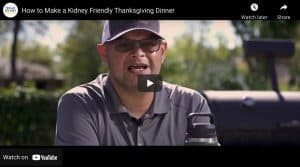 How to Make a Kidney Friendly Thanksgiving Dinner