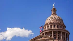 A picture of the Texas State Capitol Building